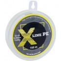 Шнур плетёный X Line PE 150 m Yellow