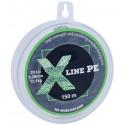 Шнур плетёный X Line PE 150 m Dark green