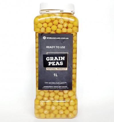Зерна гороха для рыбалки готовые Grain Peas