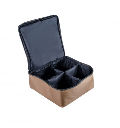 Чехол для 4-х катушек World4Carp REEL BOX Medium 4 Coyote