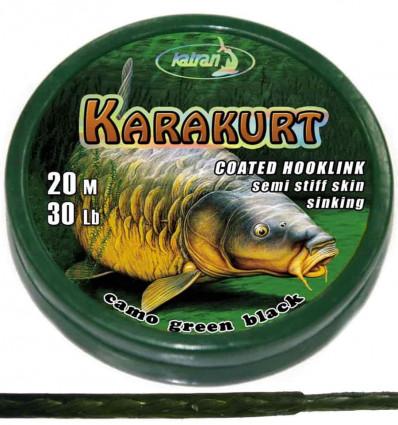 Поводковый материал в оболочке Katran KARAKURT, 25 Lb