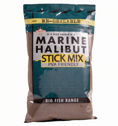 Стик микс Dynamite Baits Marine Halibut Stick Mix 1 кг