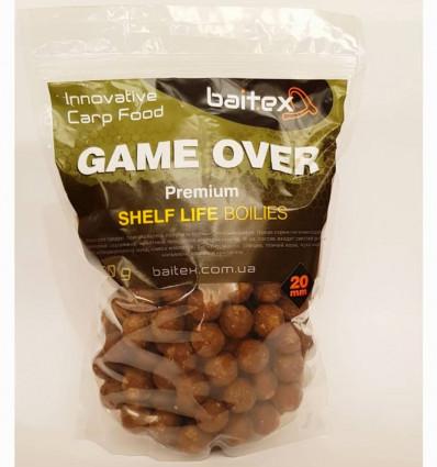 Бойлы вареные прикормочные Premium - GAME OVER 0,5 кг