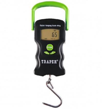 Электронные весы для рыбалки TRAPER 43 кг