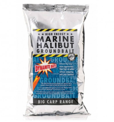 Прикормочная смесь Dynamite Baits Marine Halibut Groundbait 1kg