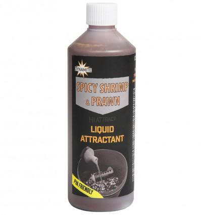 Ликвид Dynamite Baits Spicy shrimp & Prawn Liquid Attractant 0.5 л