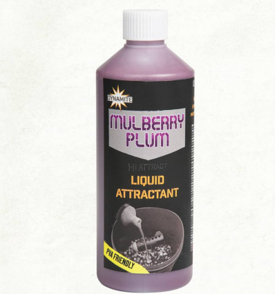 Ликвид Dynamite Baits Mulberry Plum Liquid Attractant 0.5 л