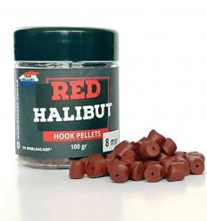 Пеллетс насадочный RED Halibut Hook, 100 г