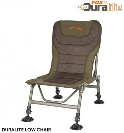 Карповое кресло FOX DURALITE LOW CHAIR