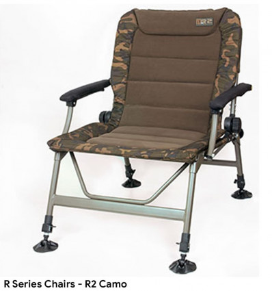 Карповое кресло FOX R1 Camo Chair