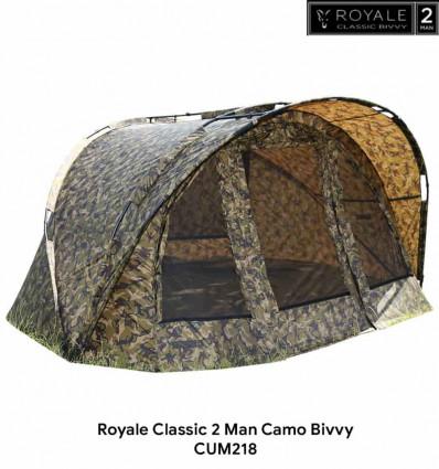 Карповая палатка Fox Royale Classic Camo 2 Man Bivvy