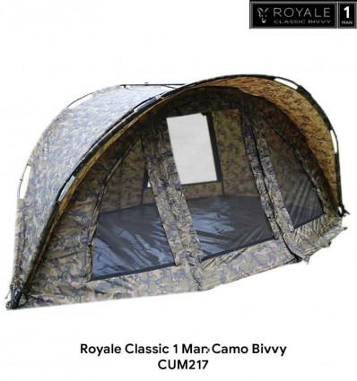 Карповая палатка Fox Royale Classic Camo 1 Man Bivvy
