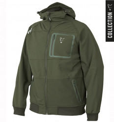 Куртка Fox Collection Green and Silver Shell Hoodie, размер M
