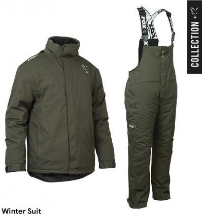 Зимний рыболовный костюм Fox Green & Silver Winter Suit