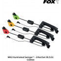 Свингера механические Fox MK2 Illuminated Swinger - 3 Rod Set