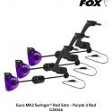 Свингера механические Fox Euro MK2 Swinger Rod Sets - Purple 3 Rod
