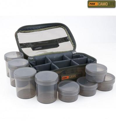 Сумка для насадок FOX Camolite Glug 8 Pot Case