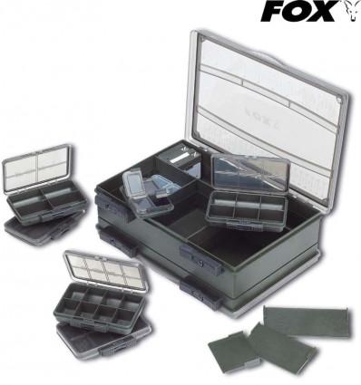 Карповая коробка Fox Deluxe Medium Double