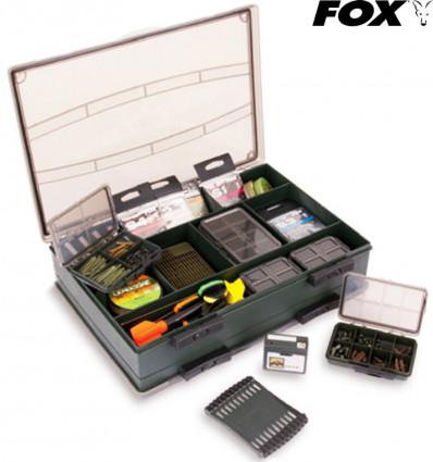 Карповая коробка Fox Deluxe Large Double