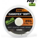 Поводковый материал в оплетке Fox Edges Camotex Soft 20m