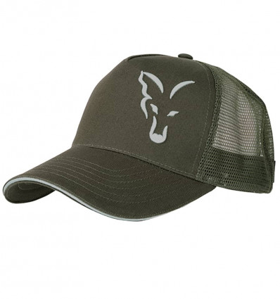 Кепка Fox Green/Silver Trucker Cap