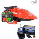 Прикормочный кораблик для рыбалки Дельфин-3 с эхолотом TOSLON TF500