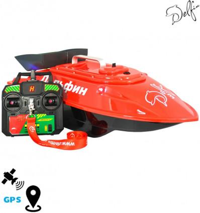 Прикормочный кораблик для рыбалки Дельфин-3