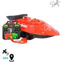 Прикормочный кораблик для рыбалки Дельфин-3 с модулем GPS + автопилот