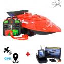 Прикормочный кораблик для рыбалки Дельфин-3 с эхолотом TOSLON TF500 + GPS с автопилотом