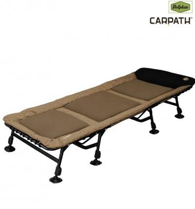 Карповая раскладушка Delphin GT8 Carpath 8 ног