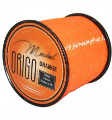 Профессиональная карповая леска Marshal Origo Carp Line Orange 1000 m