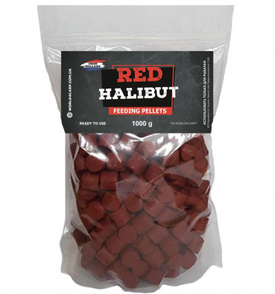 Пеллетс прикормочный Red Halibut 16 мм. 1 кг