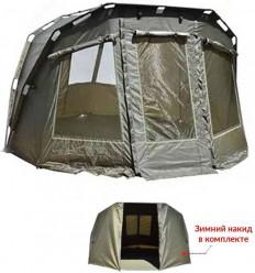 Карповая палатка с зимней накидкой CARP ZOOM FRONTIER BIVVY & OVERWRAP