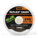 Поводковый материал без оплётки Fox Reflex Camo 25lb - 20m