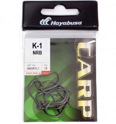 Карповые крючки Hayabusa K-1 NRB тефлоновое покрытие