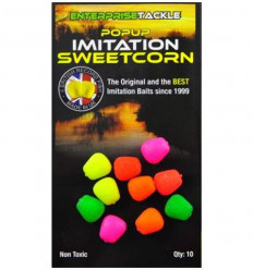 Кукуруза силиконовая Enterprise Pop-Up IMITATION SWEETCORN, MIXED FLUORO