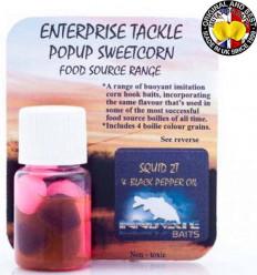 Силиконовая кукуруза Enterprise Pop-Up INNOVATE BAITS SQUID 2T& BLACK PEPPER OIL, Pink