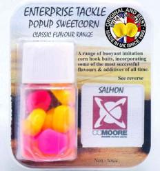 Силиконовая кукуруза Enterprise CC Moore SALMON Yellow & Fluoro Pink