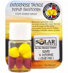 Силиконовая кукуруза Enterprise Pop-Up SOLAR SQUID&OCTOPUS, Mix Color
