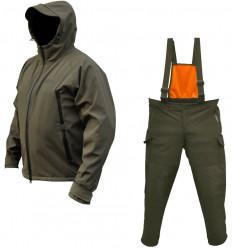 Демисезонный костюм Fiske софтшелл (softshell) олива