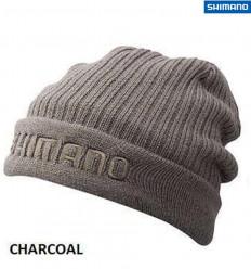 Шапка для рыбалки Shimano Breath Hyper +°C Fleece Knit, charcoal