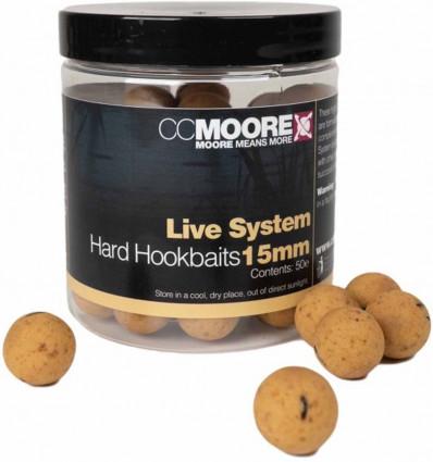 Бойлы насадочные CC Moore Live System Hard Hookbaits
