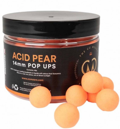 CC Moore Elite Range Air Ball Pop Ups Acid Pear