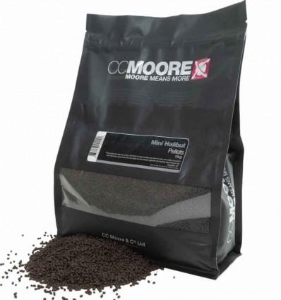 Пеллетс CC Moore Mini Halibut Pellets 2 мм, 1 кг