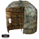 Рыболовный зонт-палатка CZ Umbrella Shelter CAMOU