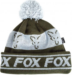 Шапка FOX Green/Silver - Lined Bobble Hat