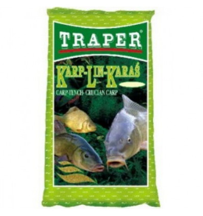 Прикормка Traper Карп-Линь-Карась 1.0, 2.5 кг
