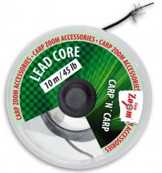 Ледкор со свинцовой вставкой Lead core classic 45lb,10м