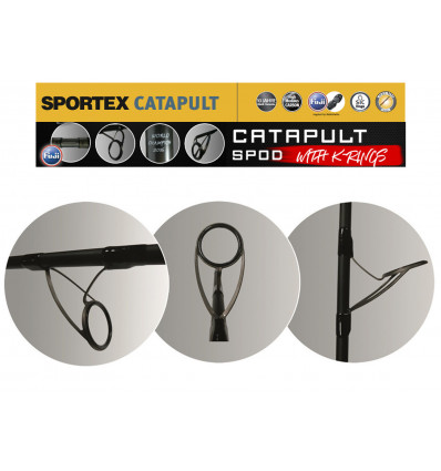 "Сподовое удилище SPORTEX Catapult Spod 13"" 5,50lbs K-Guides"