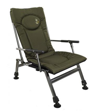 Карповое кресло с подлокотниками Elektrostatyk F8R